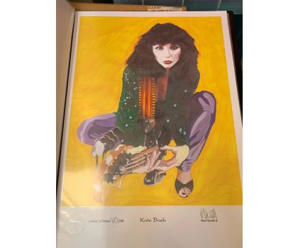 Kate bush limited edition Howell print