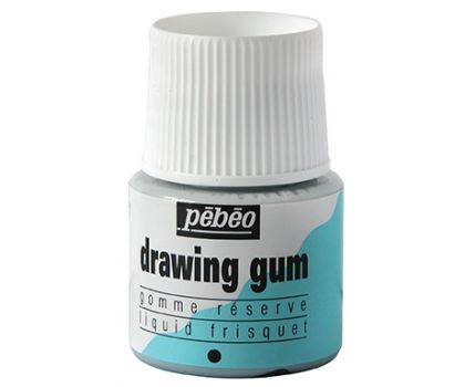 Pebeo Drawing Gum (masking fluid)