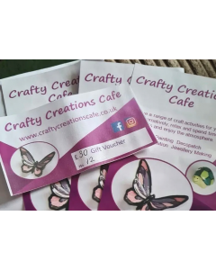 Crafty Creations Cafe Gift Voucher