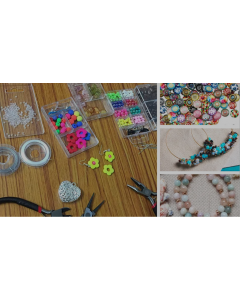Jewellery making at Crafty Creations Cafe