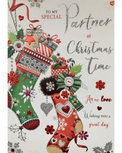 Christmas Card to my Special Partner