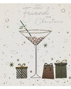 Christmas Card to a Lovely Friend