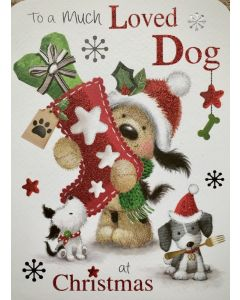 Christmas Card to a Much Loved Dog
