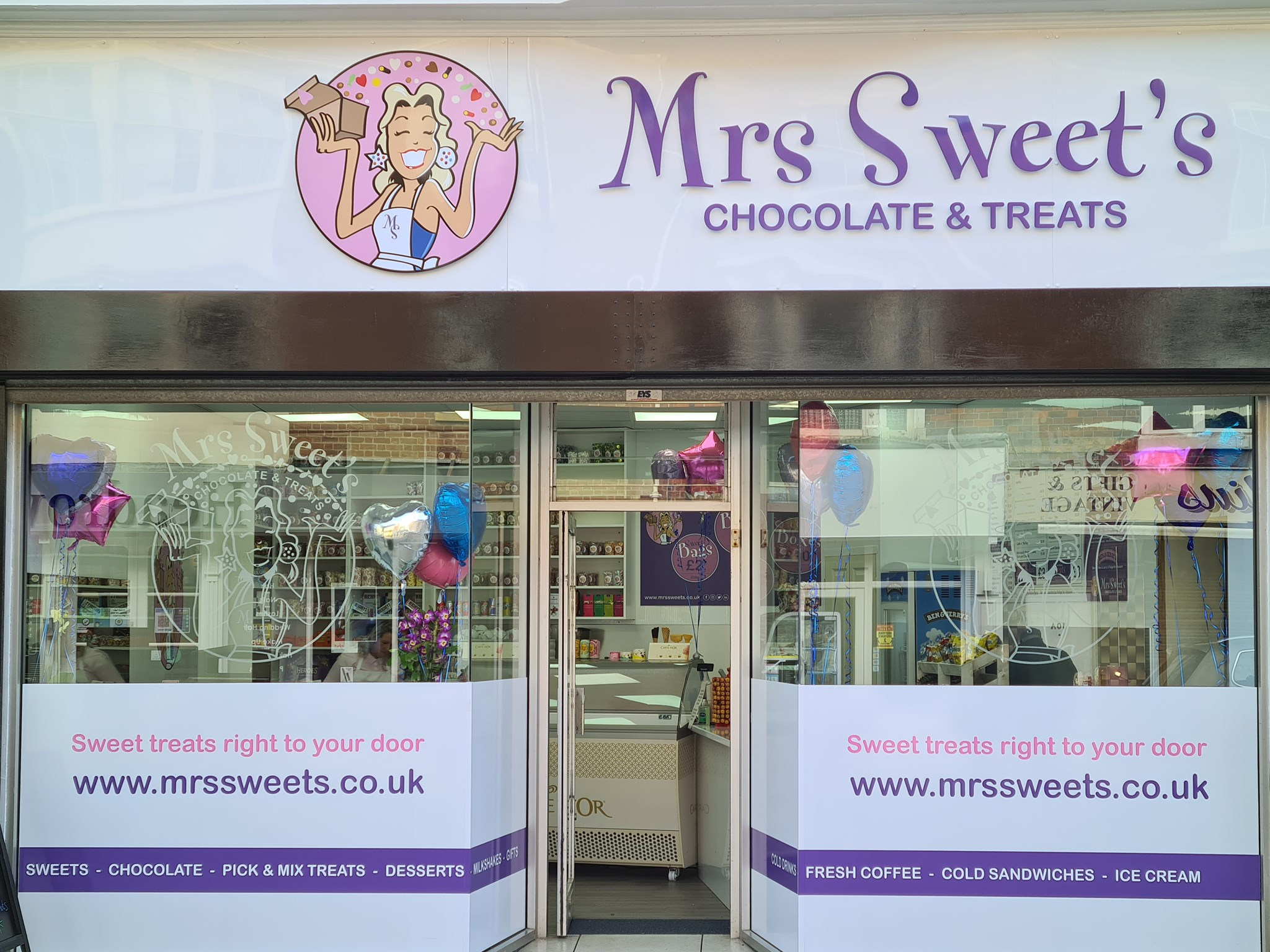 Mrs Sweets Chocolate and Treats