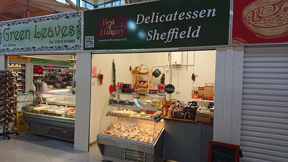 Best of Hungary - Delicatessen Sheffield