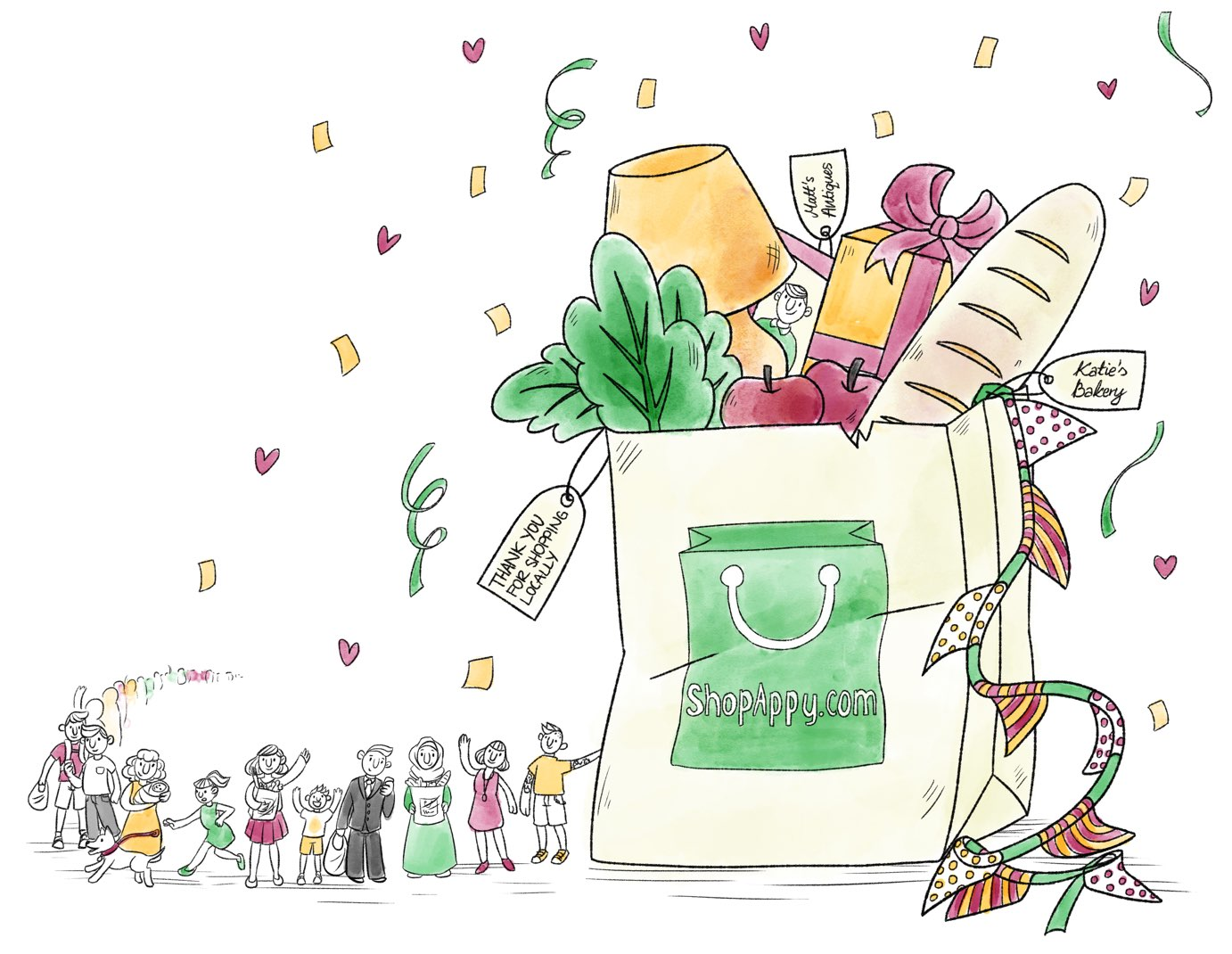 Shopappy illustration